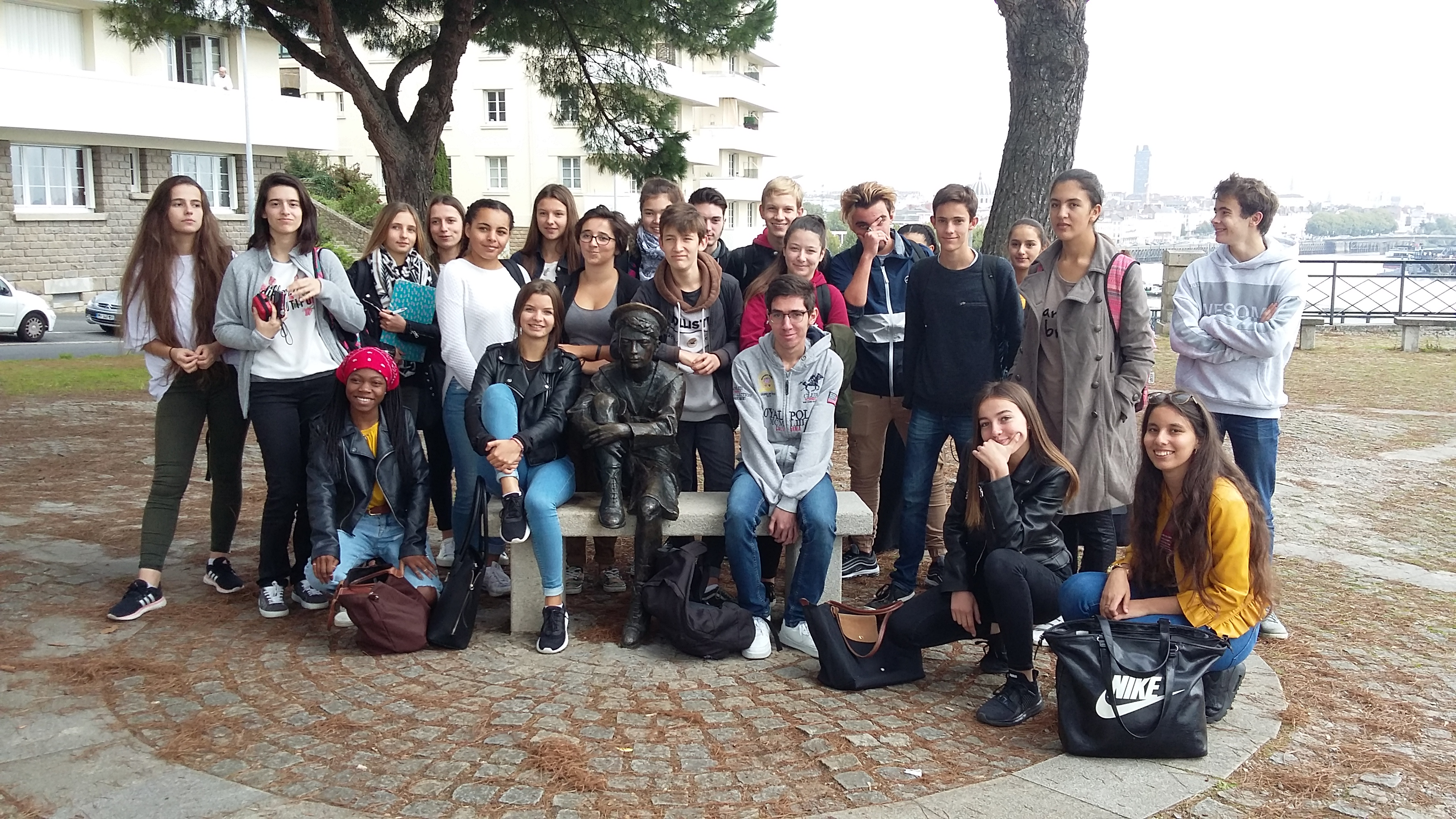 Literature And Society Class Visit To Jules Verne Museum In Nantes
