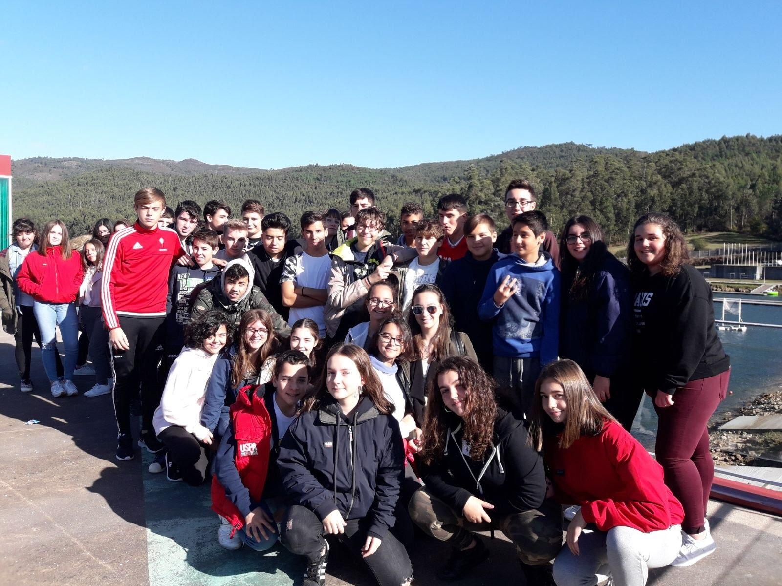 Geocaching Training At Pontillón