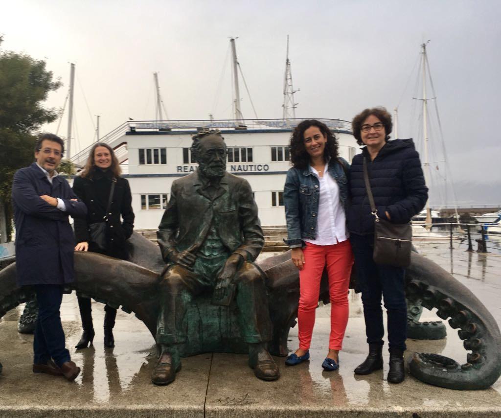 1ª Reunión Transnacional- Visita A Vigo